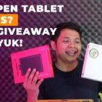 Bagi-bagi pen tablet dan hadiah lainnya   GIVEAWAY 100K